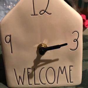 Rae Dunn Accents - Rae Dunn Clock NWT